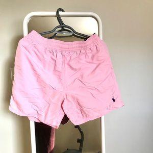 Ralph Lauren Men's Pink bathing suit